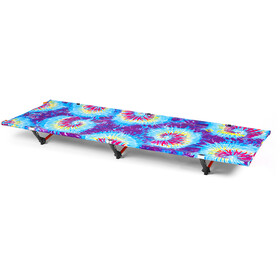 Helinox Cot One Convertible Chaise longue, tie dye/orange